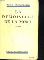 La Demoiselle De La Mort - Couverture - Format classique