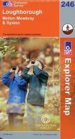 **Loughborough 1/25 000 - Couverture - Format classique