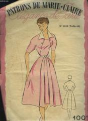 Patrons De Marie Claire. Elegance De Paris N°1135. Robe Taille 44. - Couverture - Format classique