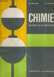 Chimie Classes De 3e Moderne / Colleges D'Enseignement General Colleges D'Enseignement Secondaire Lycee 1er Cycle. - Couverture - Format classique