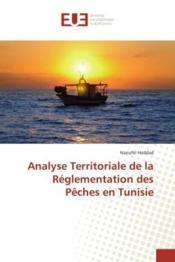 Analyse territoriale de la reglementation des peches en tunisie - Couverture - Format classique