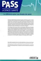 Introduction à l'anatomie - 4ème de couverture - Format classique