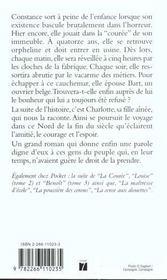 La couree - tome 1 - 4ème de couverture - Format classique