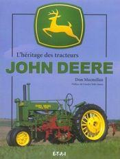 L'heritage des tracteurs john deere - Intérieur - Format classique