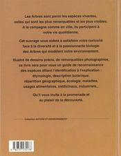 Connaitre Les Arbres - 4ème de couverture - Format classique