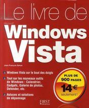 Le livre de windows vista - Intérieur - Format classique