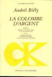 La Colombe D'Argent - Couverture - Format classique