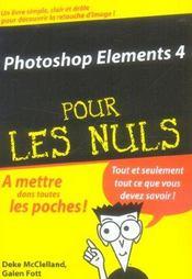 Photoshop Elements 4 Pour Les Nuls - Intérieur - Format classique