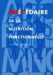 Abecedaire De La Nutrition Fonctionnelle - Intérieur - Format classique