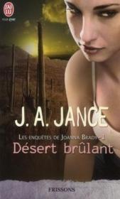 Les enquêtes de Joanna Brady t.1 ; désert brûlant - Couverture - Format classique