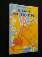 Le Saint en Europe - Couverture - Format classique