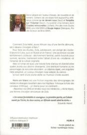 Noirs en blanc - 4ème de couverture - Format classique