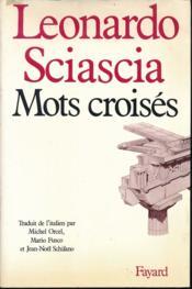 Mots Croises - Couverture - Format classique