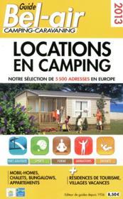 Guide Bel-air ; locations en camping (édition 2013) - Couverture - Format classique