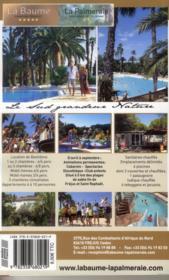 Guide Bel-air ; locations en camping (édition 2013) - 4ème de couverture - Format classique