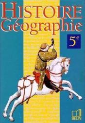Hist.Geo 5 97 Eleve - Couverture - Format classique