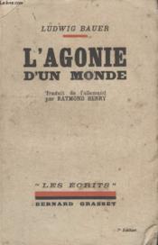 Lagonie Dun Monde. - Couverture - Format classique