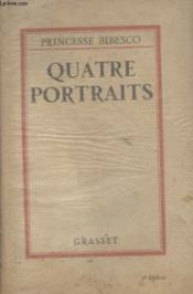 Quatre Portraits. - Couverture - Format classique
