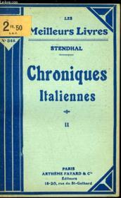 Chroniques Italiennes - Tome 2 - Couverture - Format classique