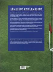 Les bleus par les bleus - 4ème de couverture - Format classique