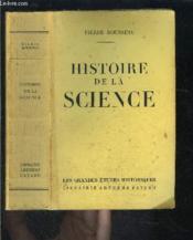 Histoire De La Science - Couverture - Format classique