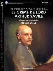Le crime de Lord Arthur Savile - Couverture - Format classique