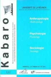 Kabaro N.1-2 ; Anthropologie ; Psychologie ; Sociologie - Couverture - Format classique