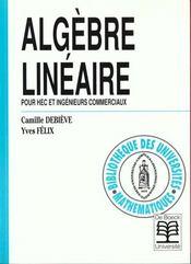 Algèbre linéaire - Intérieur - Format classique