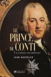 Le prince de conti ; un cousin encombrant - Intérieur - Format classique