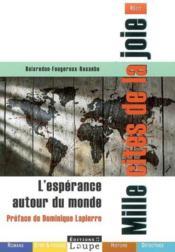 L'espérance autour du monde ; mille cités de la joie - Couverture - Format classique