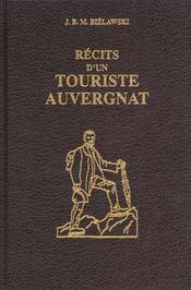 Recits D'Un Touriste Auvergnat - Intérieur - Format classique