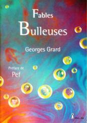 Fables bulleuses - Couverture - Format classique