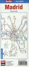 Madrid ; flexi map plastifiée - 4ème de couverture - Format classique
