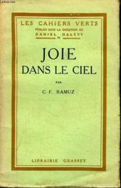 Joie Dans Le Ciel. - Couverture - Format classique
