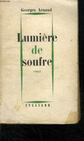 Lumiere De Soufre. - Couverture - Format classique