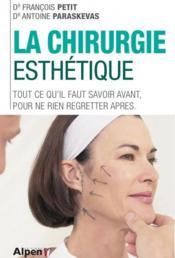 La chirurgie esthétique - Couverture - Format classique