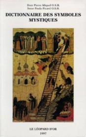 Dictionnaire des symboles mystiques - Couverture - Format classique