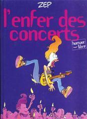 Les Filles Electriques T.2 ; L'Enfer Des Concerts - Intérieur - Format classique