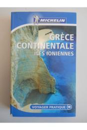 VOYAGER PRATIQUE ; grèce continentale, îles ioniennes - Couverture - Format classique
