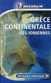 VOYAGER PRATIQUE ; grèce continentale, îles ioniennes - Intérieur - Format classique