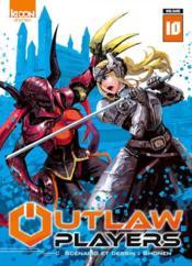 Outlaw players T.10 - Couverture - Format classique