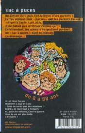 Sac A Puces - 4ème de couverture - Format classique