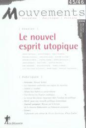 Revue mouvements numero 45/46 le nouvel esprit utopique - Intérieur - Format classique