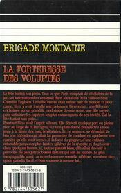 Brigade mondaine, numéro 232 [Poche] - 4ème de couverture - Format classique