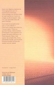 Silences de medea - 4ème de couverture - Format classique