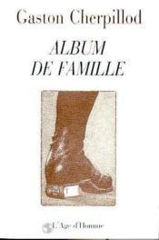 Album De Famille - Couverture - Format classique