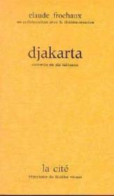 Djakarta - Couverture - Format classique