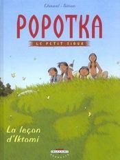 Popotka le petit sioux t.1 ; la leçon d'Iktomi - Intérieur - Format classique