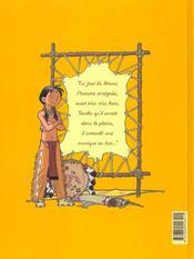 Popotka le petit sioux t.1 ; la leçon d'Iktomi - 4ème de couverture - Format classique