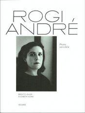 Rogi André ; photo sensible - Couverture - Format classique